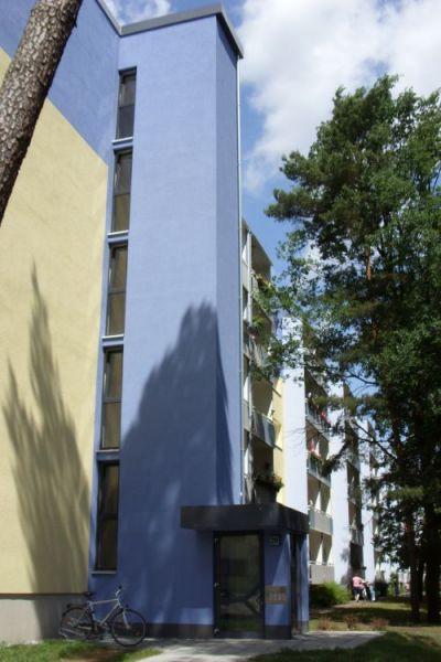 """Aufzuganbauten Wohnungsgenossenschaft """"Einheit"""" Hennigsdorf"""