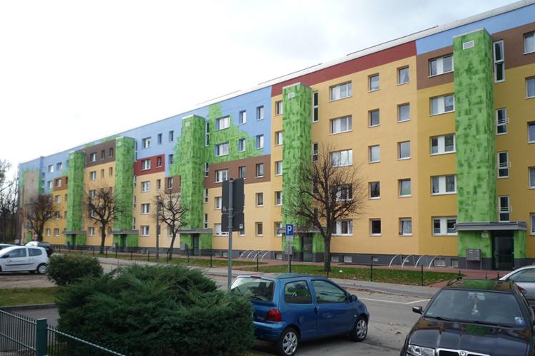 Aufzuganbauten Wohnbaugenossenschaft Luckenwalde