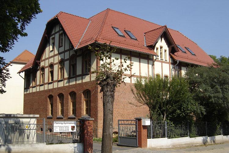Denkmalschutz Fläming-Gymnasium
