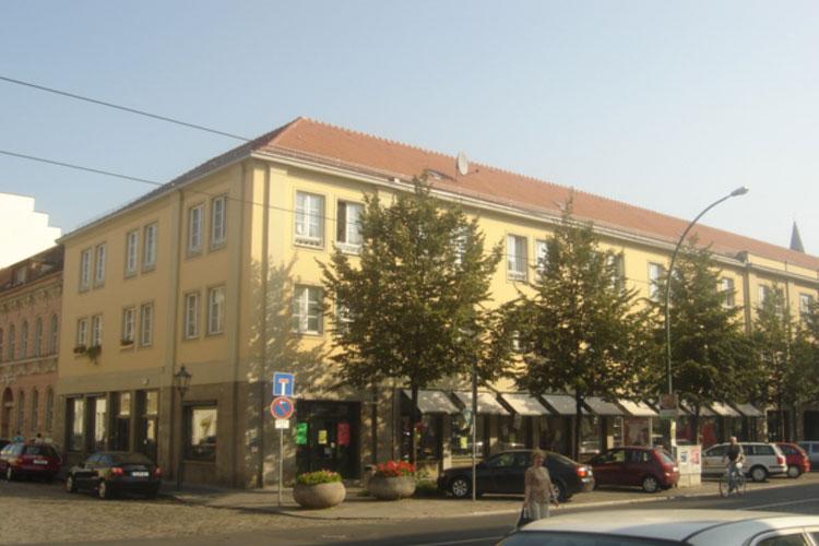 Denkmal Sanierung Wohn- und Geschäftshaus Potsdam