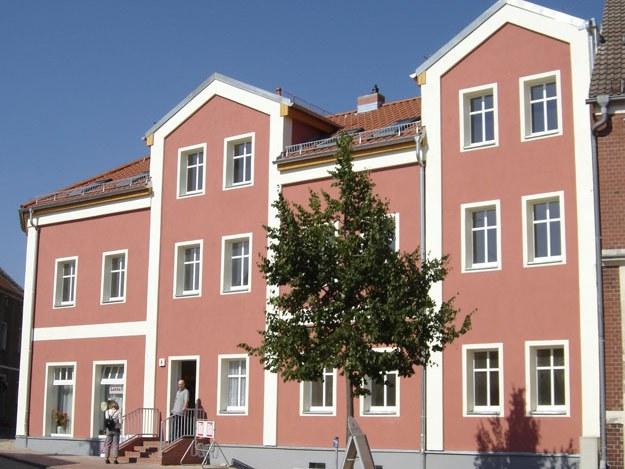 Stadtsanierung Wohn- und Gewerbehaus Wiesenburg