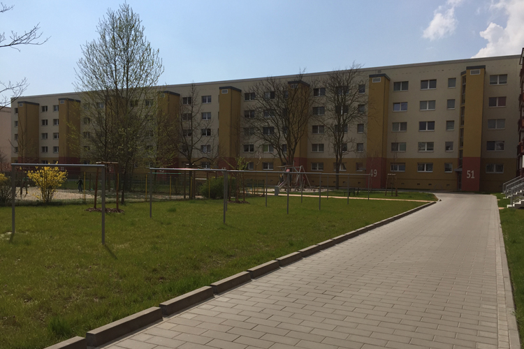 Wohnhäuser Brahmsstr./Max-Herm-Str. Brandenburg