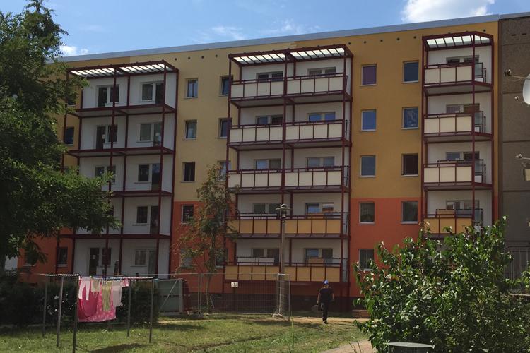 Wohnhäuser Modernisierung/Sanierung Bisamkiez Potsdam