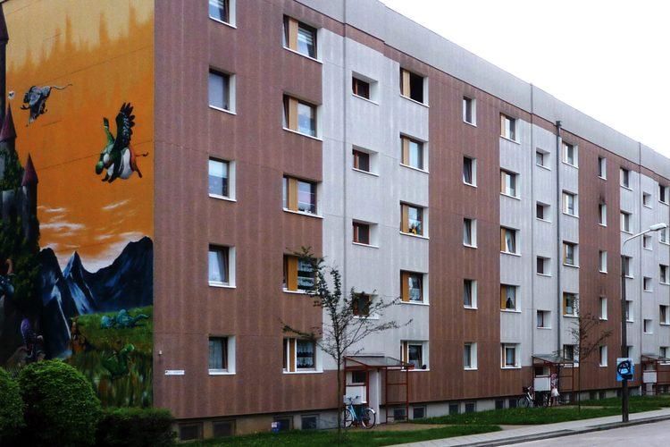 Aufzuganbauten Am Burgwall Wohnbaugenossenschaft Luckenwalde