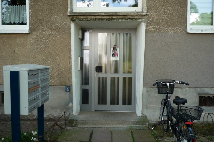 Wohnhäuser Aufzuganbauten Sanierung Modernisierung Kreyssigstrasse Brandenburg